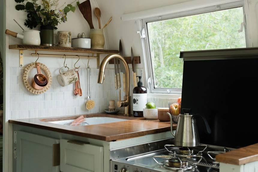 Natural Beauty Kitchen Area