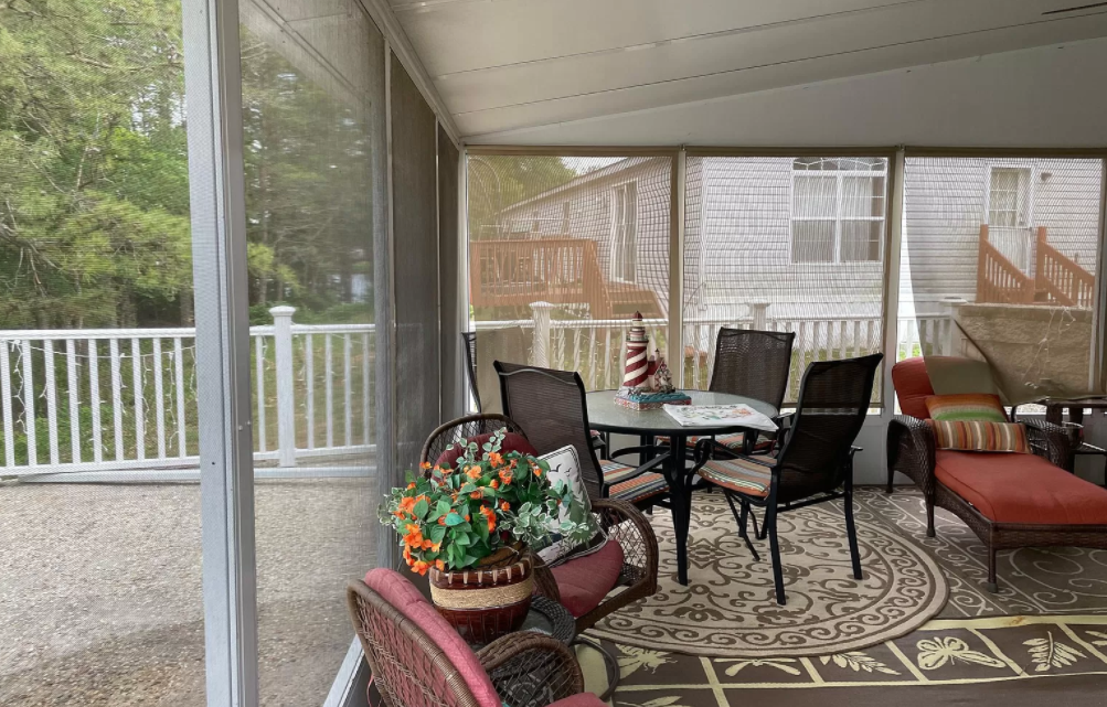 New jersey screened in porch