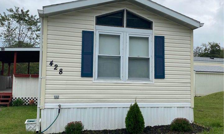 New Mobile Home Exterior