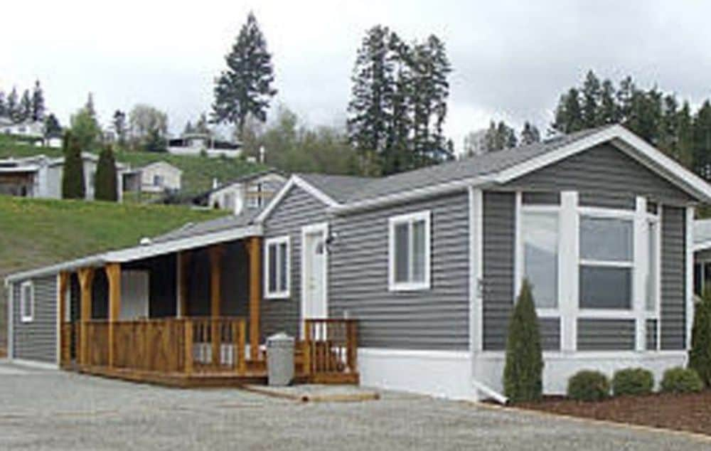 New Siding On A Mobile Home
