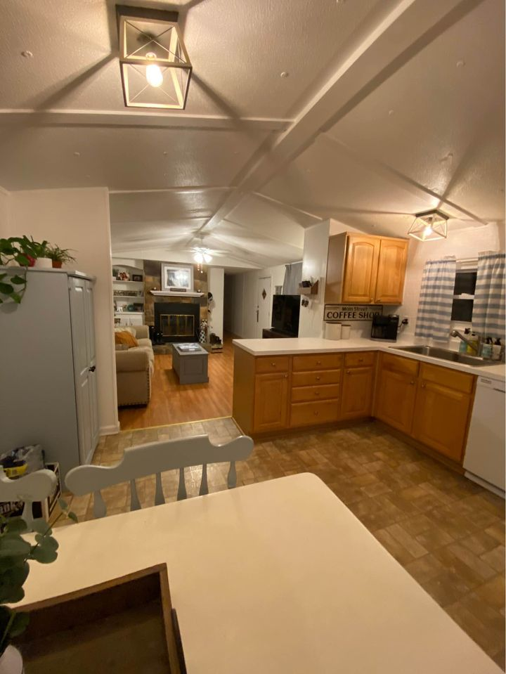 Newer mobile home interior