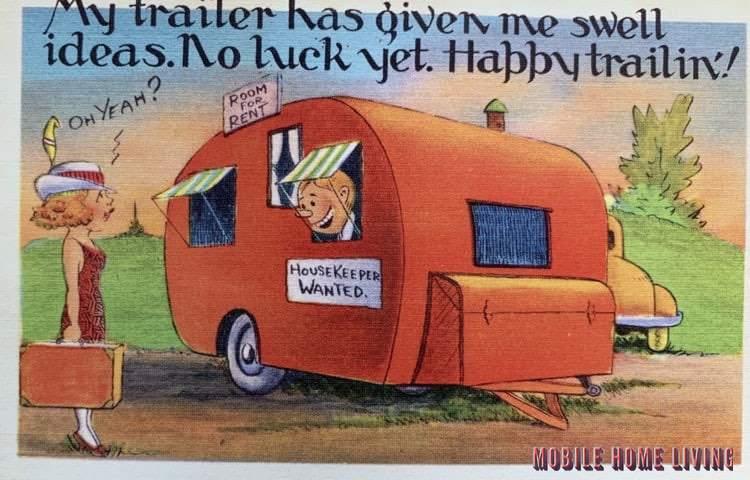 No Luck Yet Vintage Postcard 1 1