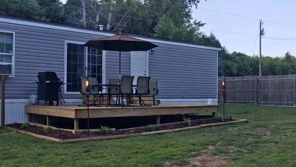 North carolina exterior with deck