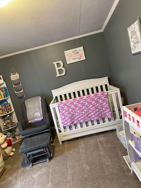 Ohio double wide nursery view after