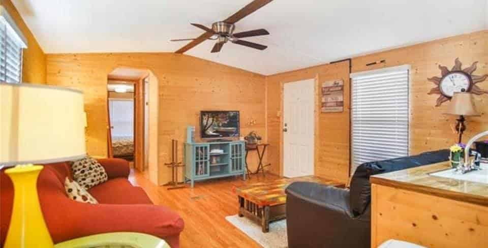 Oklahoma Single Wide Interior