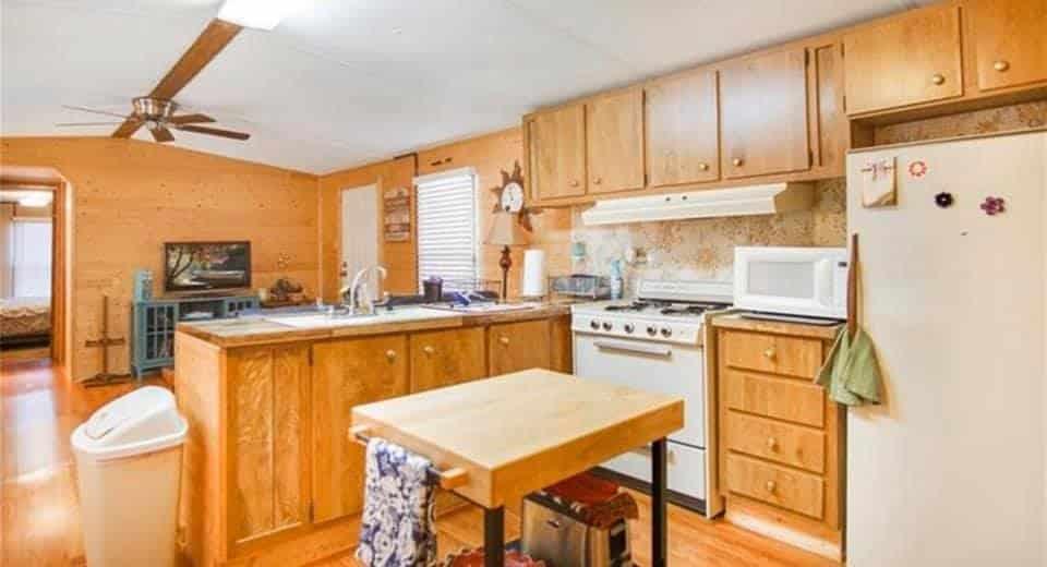 Oklahoma Single Wide Kitchen