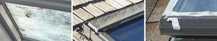 Old skylights from wasco