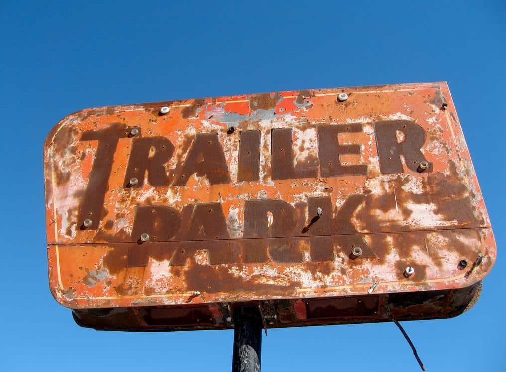 Old trailer park sign 2