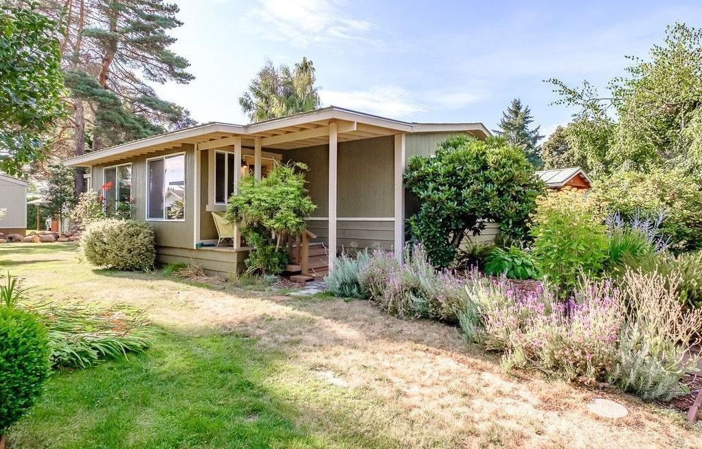 Oregon Double Wide Back Porch
