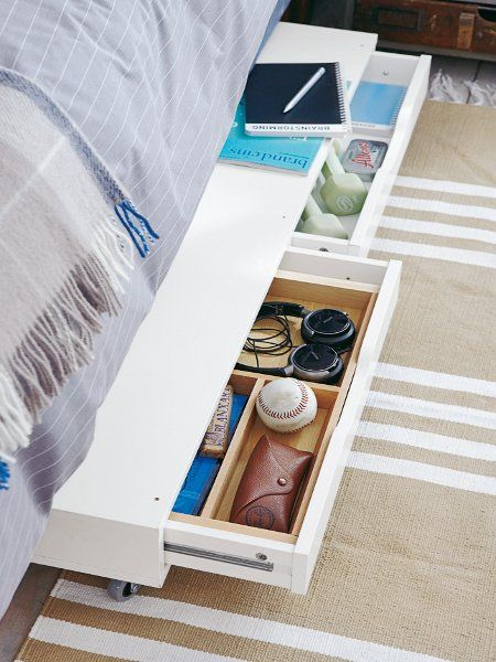 Organize Your Mobile Home Under Bed Storage