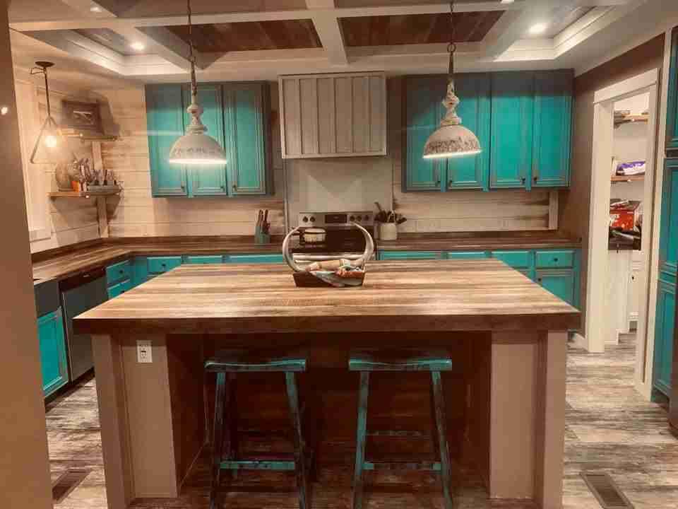 Paint kitchen cabinets