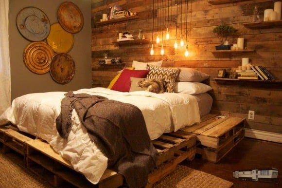 Pallet Bedroom Project 1 Jpg
