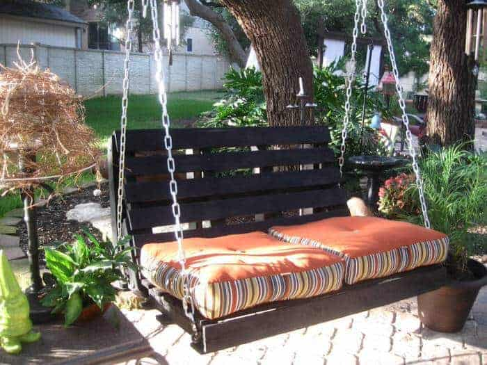 pallet projects-DIY porch swing