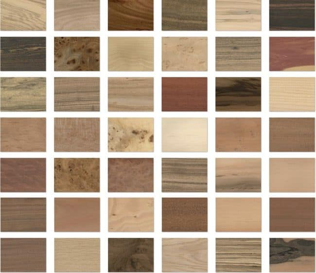 paper with wood grain designs
