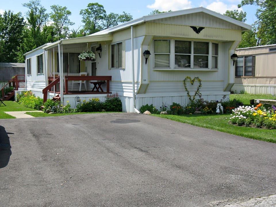 Pennsylvania mobile home exterior