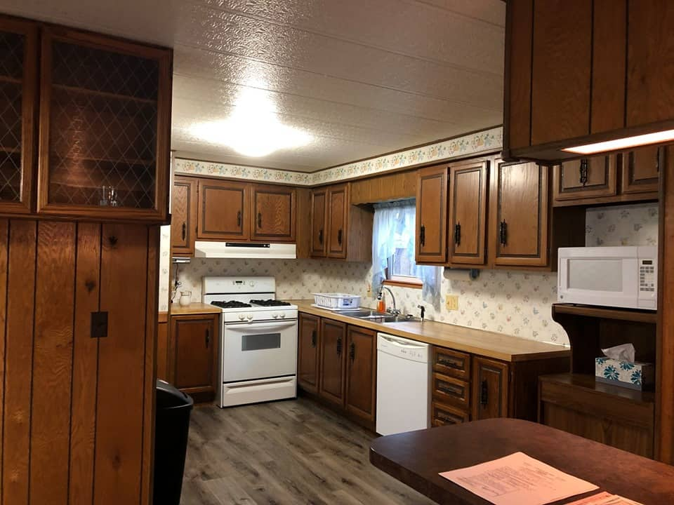 Pennsylvania mobile home kitchen