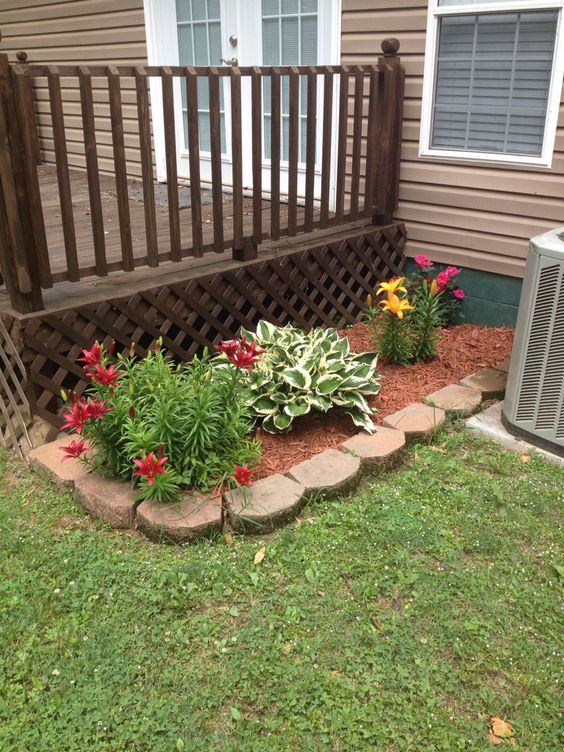 Porch landscaping 1