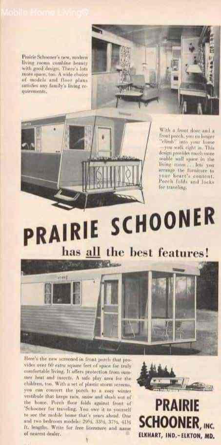 Prairie Schooner Mobile Home 54 1 1
