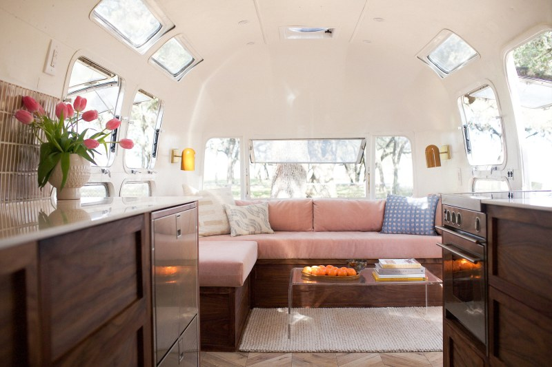 Pretty in pink airstream