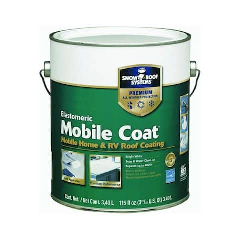 Questions About Mobile Home Roofs Elastometric Mobile Coat 1