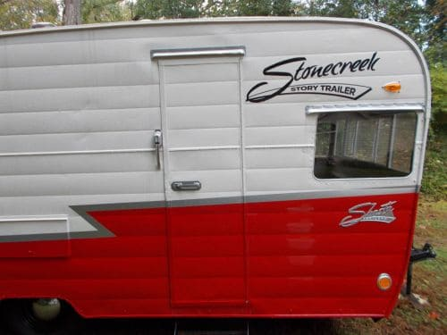 Affordable DIY Vintage Camper Renovation: Adopting Shana the Shasta 1