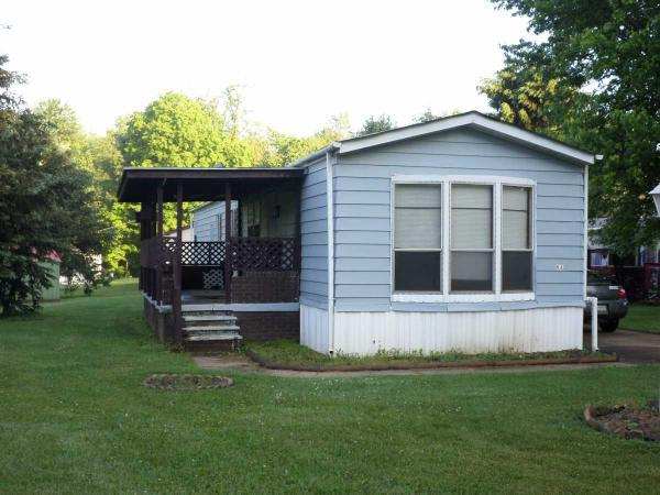 Remodel a single wide mobile home - exterior before