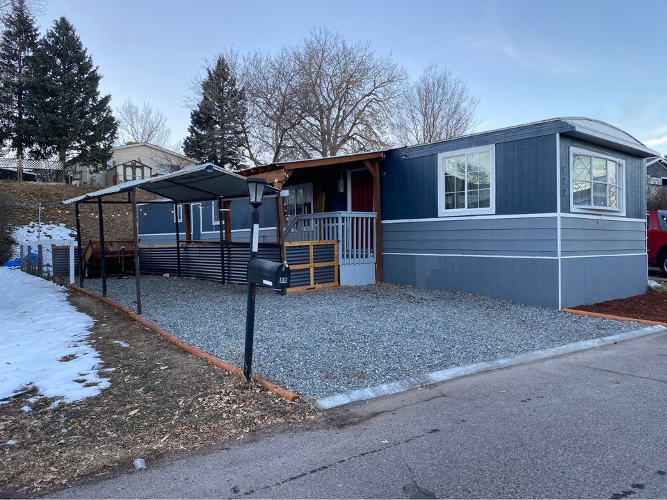 Remodeled mobile homes colorado exterior