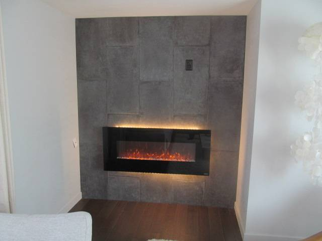 Remodeled Singlew Wide Fireplace