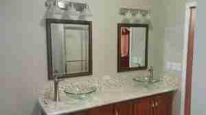 remodeling the master bath-vanity after