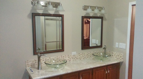 remodeling the master bath-vanity after