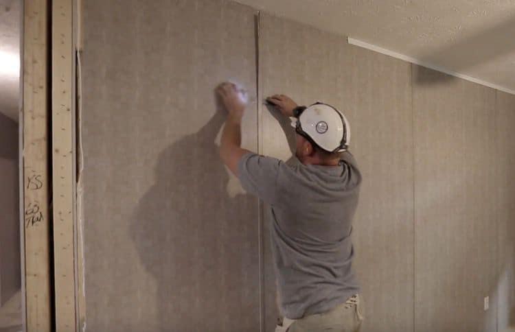 removing batten from wall panel - clayton video