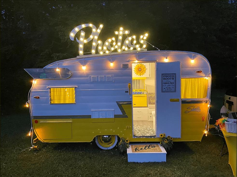 Repurposed vintage trailers snappy camper