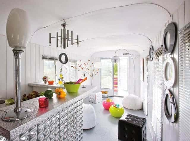 Retro Mobile Home Remodel Interior