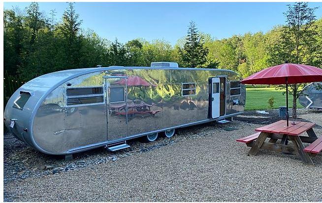 Retro trailer park resorts junebug spartan
