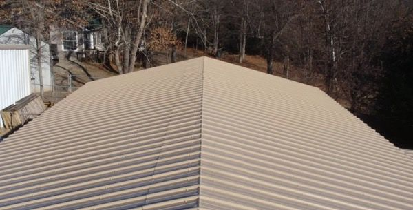 The Best Self-Supported Mobile Home Roof Over Designs 18