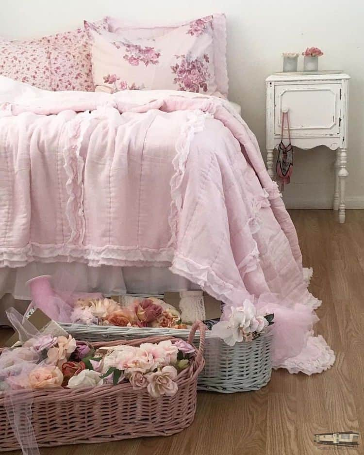 Romantic shabby chic mobile home0077