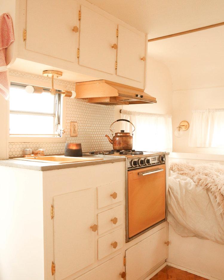 Rosie kitchen after