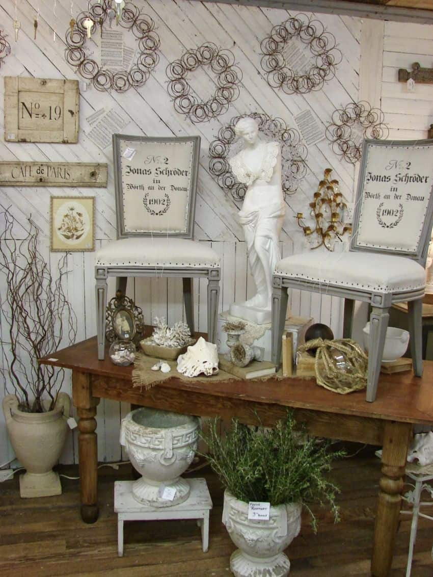 Salvage shabby chic mobile home0001