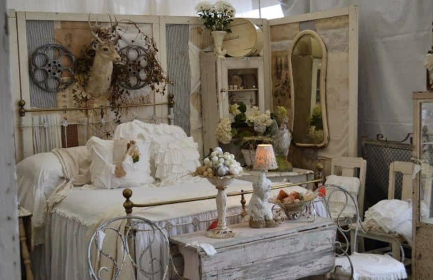 Salvage shabby chic mobile home0003