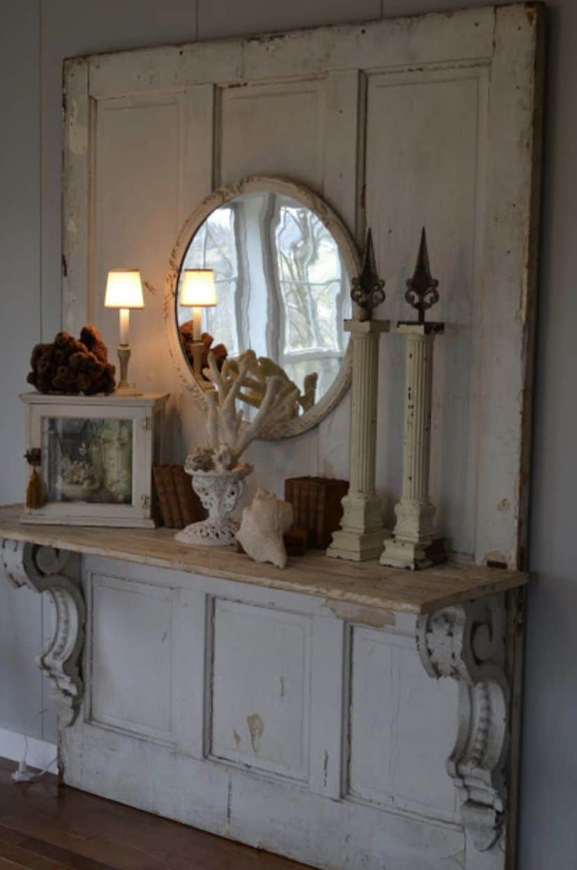 Salvage Shabby Chic Mobile Home0018
