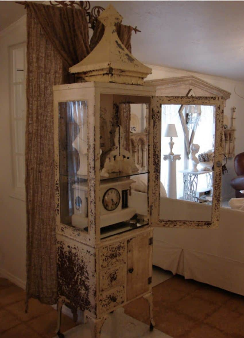 Salvage Shabby Chic Mobile Home0028