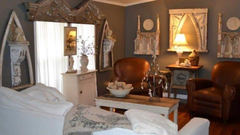 Antique Dealer's Salvage Shabby Chic Double Wide Featured on Country Living