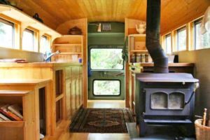 school bus to camper - camper remodels you'll love