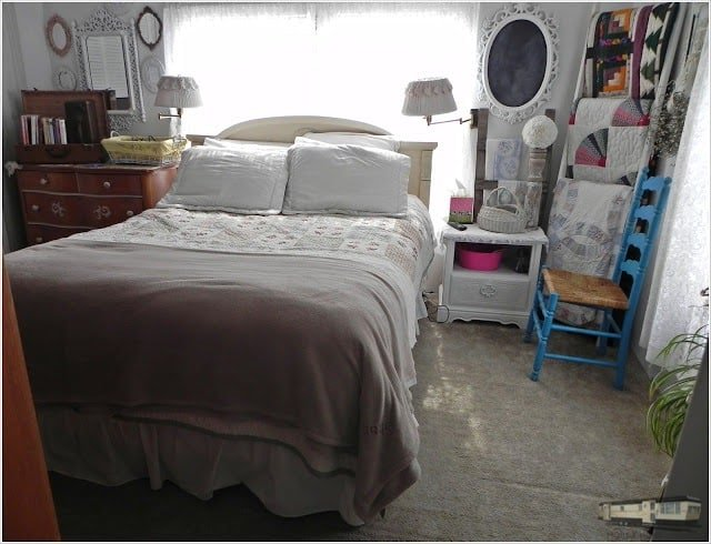 Shabby Shic Decor To Update Your Mobile Home Bedroom Jpg