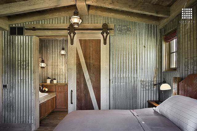 sheet metal home improvement projects - bedroom walls