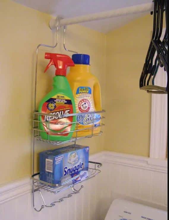 Shower Caddy For Laundry Room
