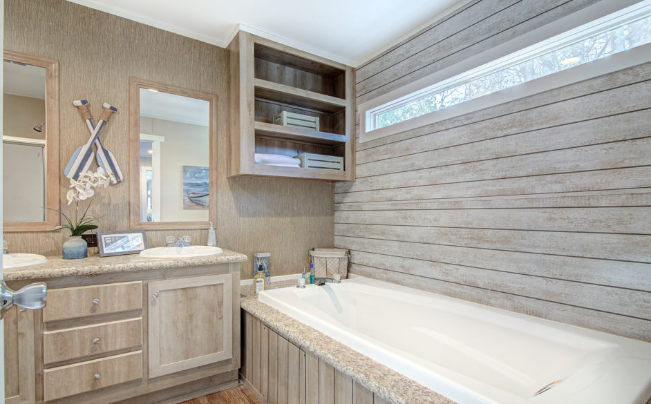 Silver spur master bath