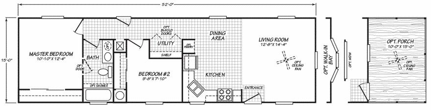 Single wide designs the billings floor plan