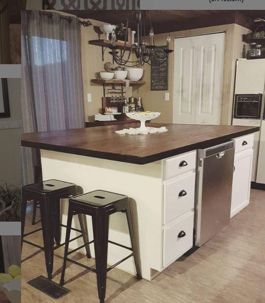 Single wide love shack kitchen