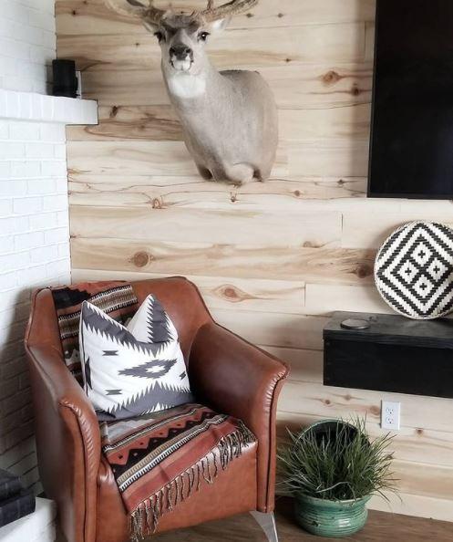 Single wide love shack living room